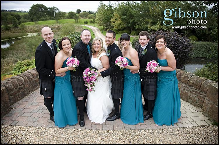 Wedding Photographers Lochside Birdal Party Photo
