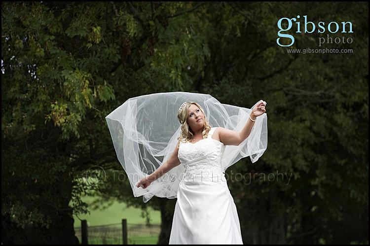 Lochside House Hotel Wedding Photographers Bridal Portrait