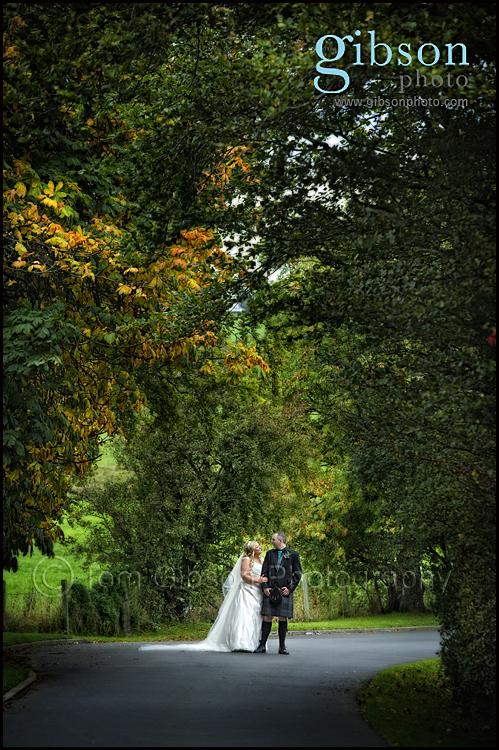 Lochside Wedding Venue Bride and Groom Photograph