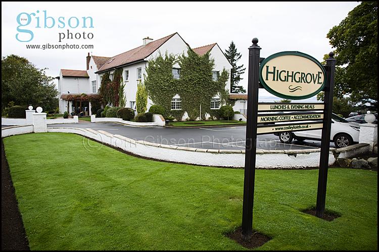 Ayrshire Wedding Venue Highgrove House Hotel