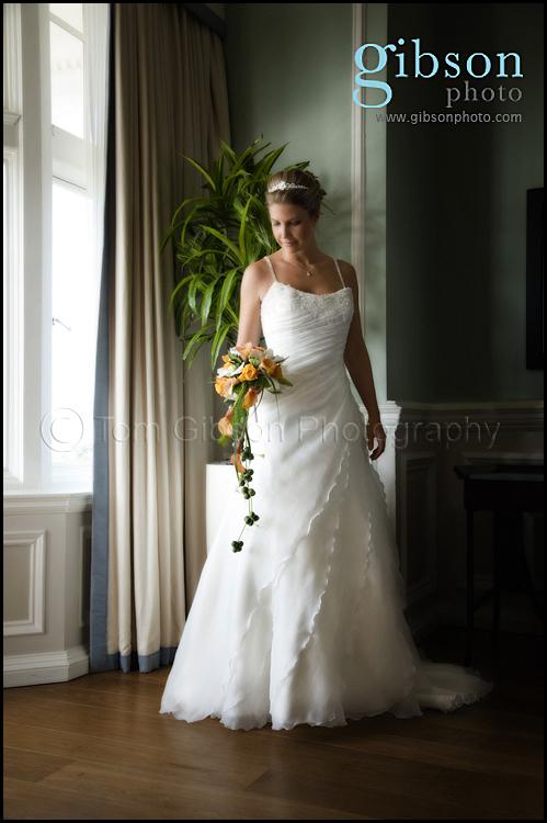 Wedding Photographer Turnberry Beautiful Bridal Portrait