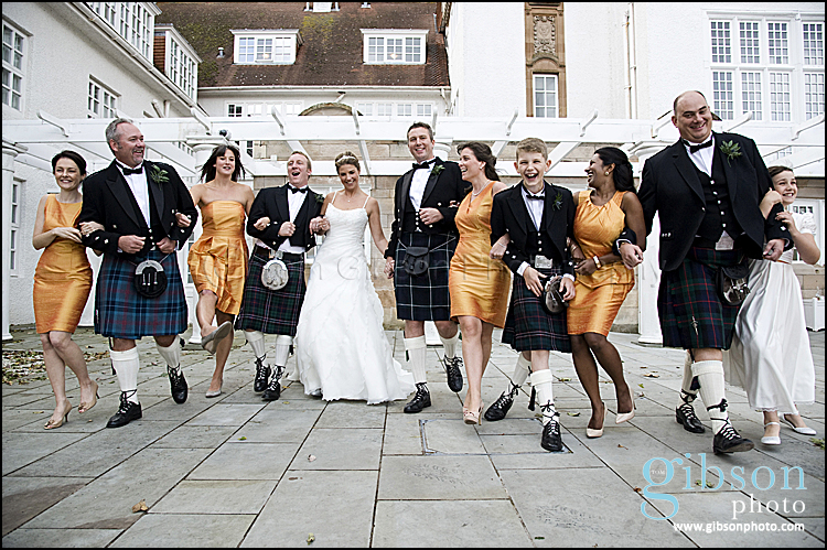 Turnberry Resort Wedding Bridal Party Photograph
