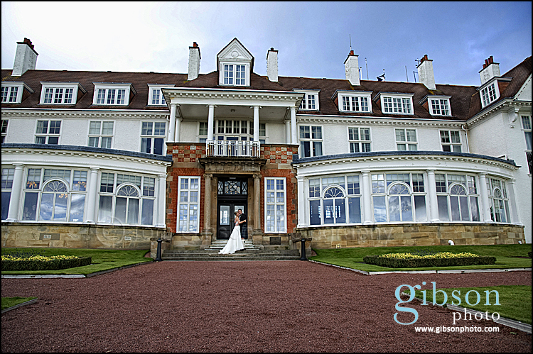 Bride and Groom Photograph Turnberry Hotel Wedding Photographer