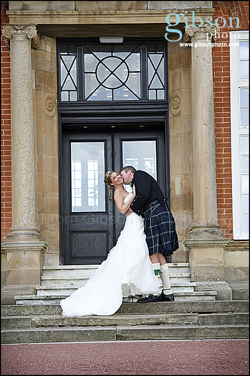 Bride and Groom Photograph Turnberry Hotel Wedding