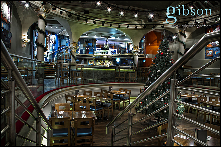 Commercial Photography Glasgow Hard Rock Cafe