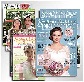 Scottish Wedding Directory January 2014 issue