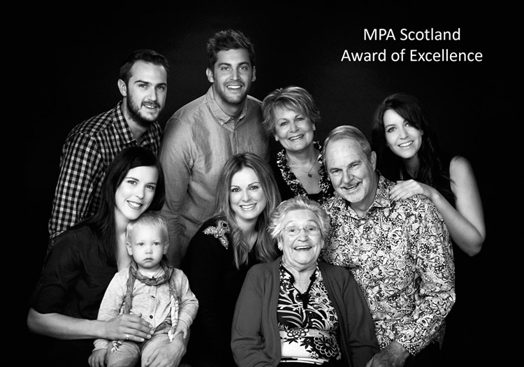 Glasgow Family Portrait Photographer