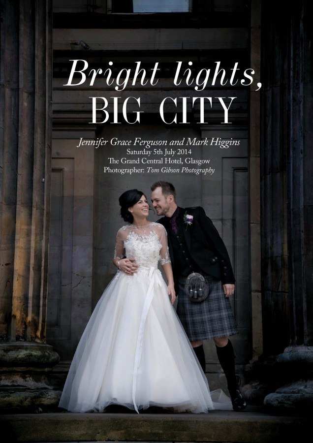 Glasgow City Centre Wedding Grand Central Hotel