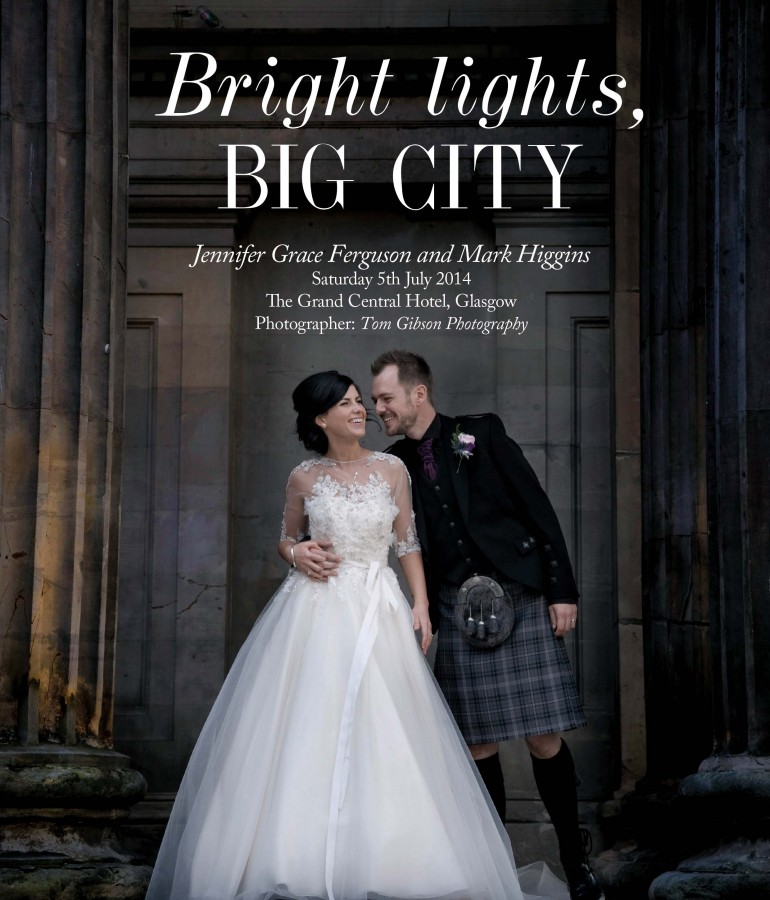 Glasgow Wedding – Grand Central Hotel