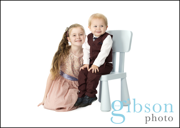 Ayrshire Baby Photographer 3rd photoshoot my big sister and me