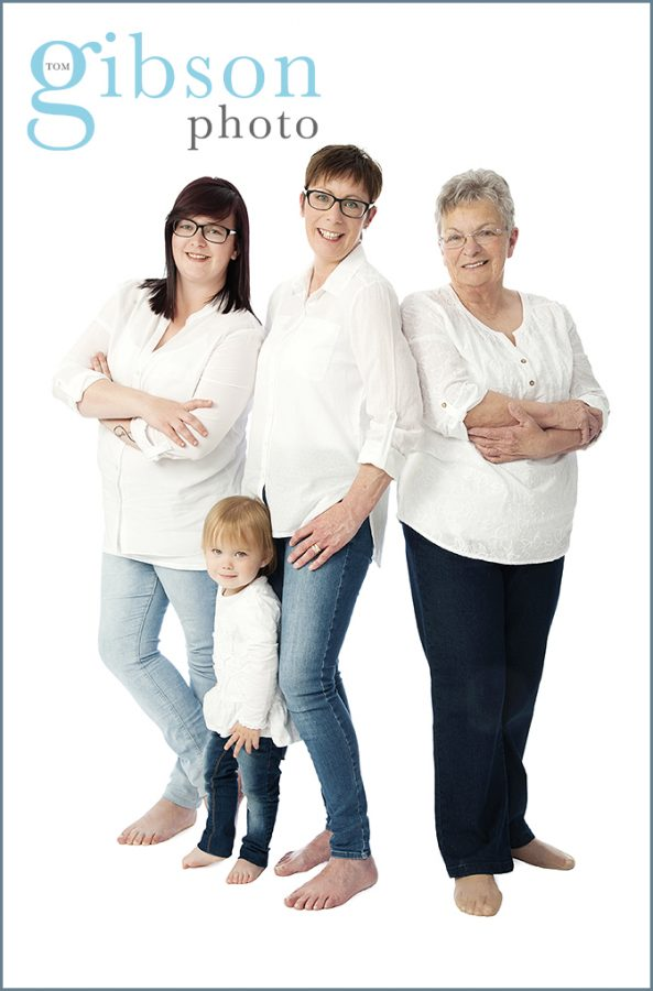 Multi Generation Photoshoot Ayrshire Photographer