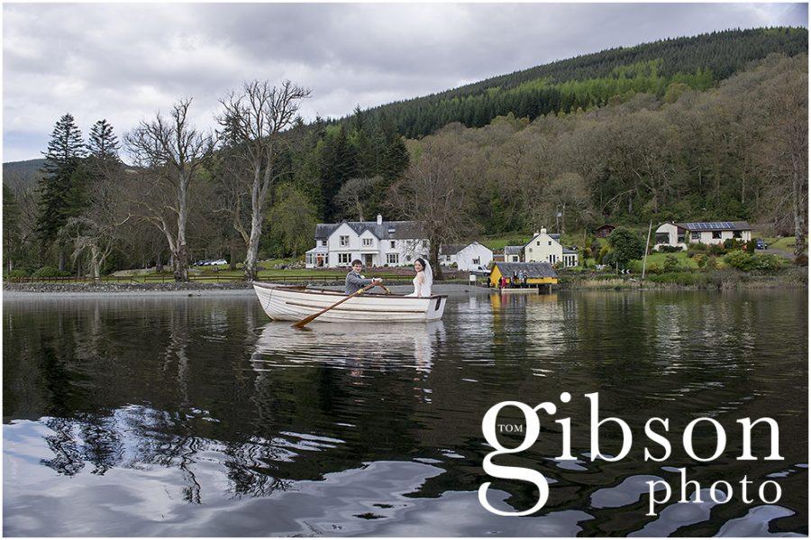 Altskeith Loch Ard Boat Photograph