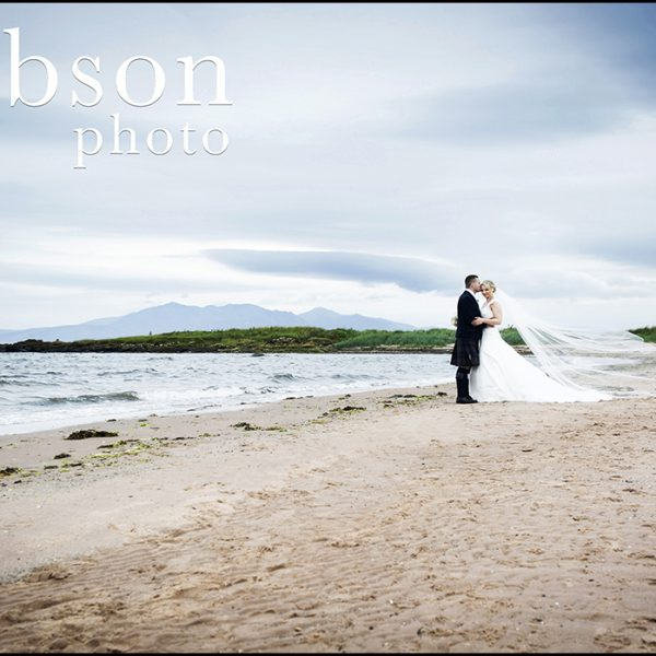 Waterside Wedding Photograph on the Beach