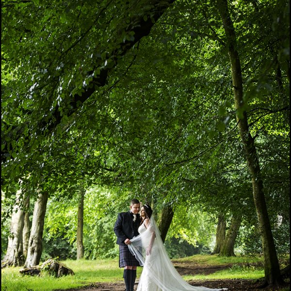Rozelle Park Wedding Photograph